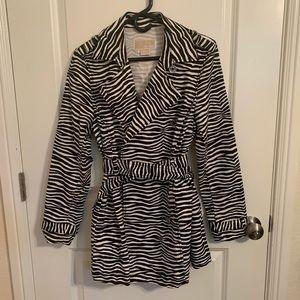 Michael Kors Zebra-Print Coat